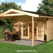 Weka faház építés többféle méretben
