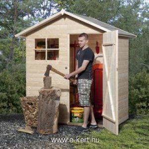 Szerszámtároló faház