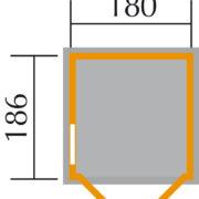 Szerszámos faház 346