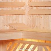 Finn szauna építés északi fenyőből