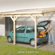 Terasztető nyitott garázs 671