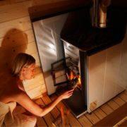Fatüzelésű kályha biztonságos üzemeltetéséhez szükséges hőpajzs