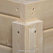 Weka szerszámtároló faház építés