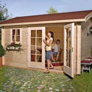 Szerszámtároló kerti faház Weka 163típus