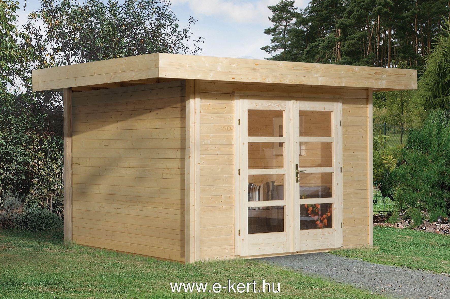 Faház Weka designhaus 126 kerti tároló