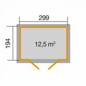 aház 323.3020 alapozási mérete