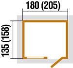 szerszámtároló alapozási méret 345