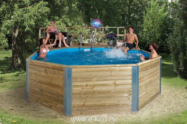Medence felszín feletti medence építés