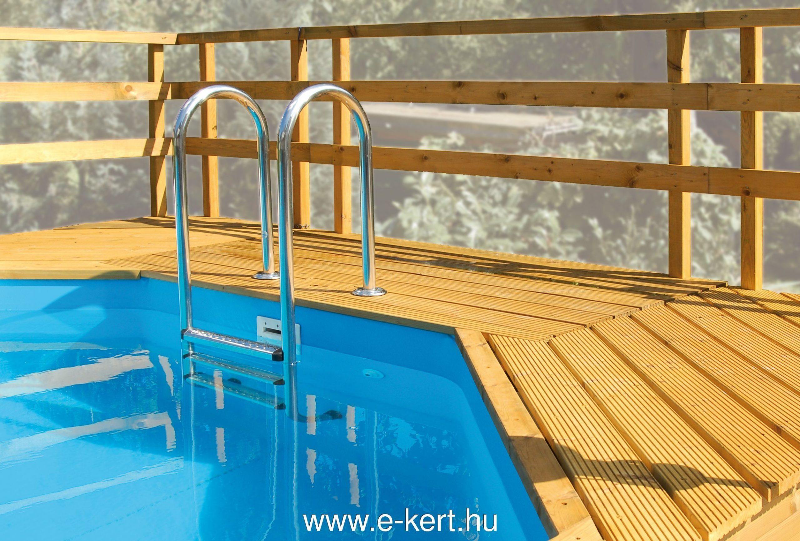 Napozó terasz Weka medencéhez