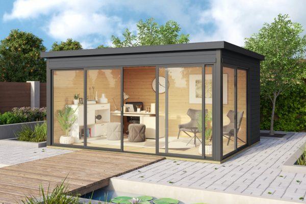 Faház Designhaus Weka 412 antracit